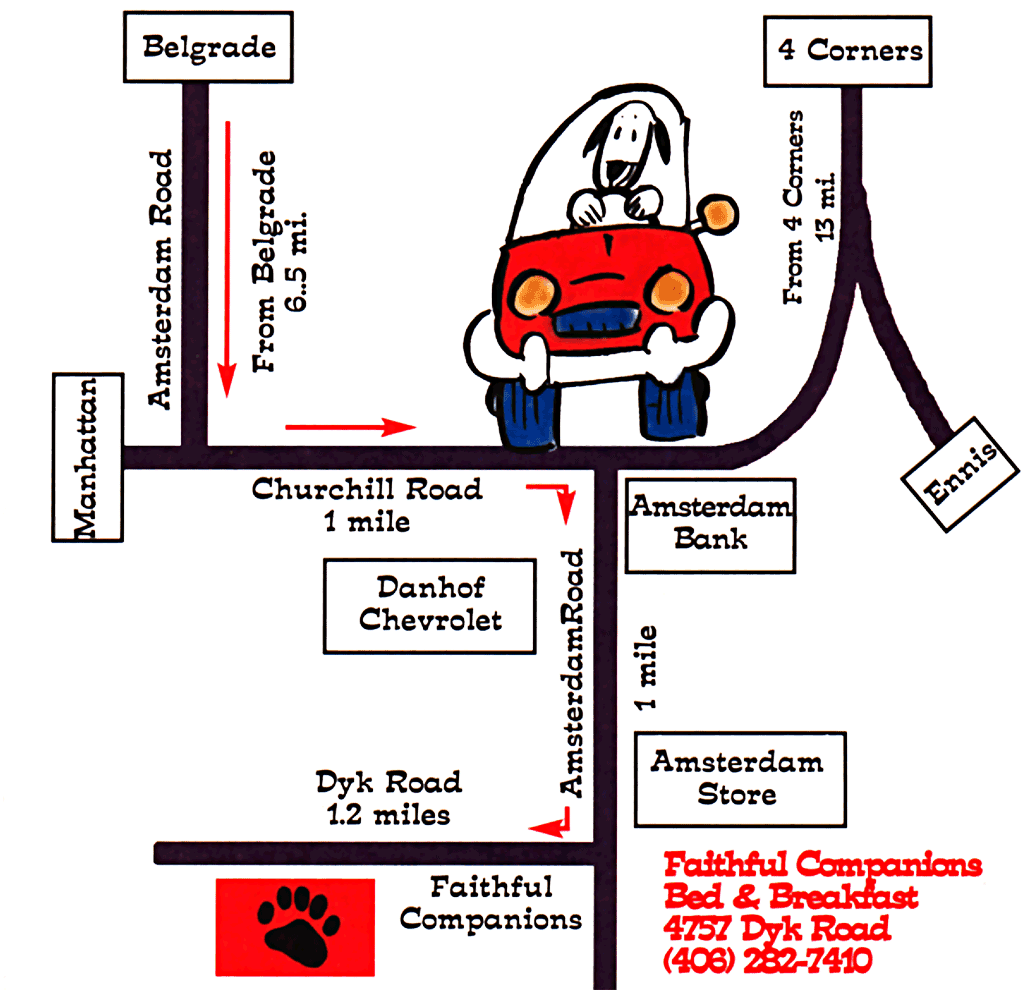 map to faithful companions